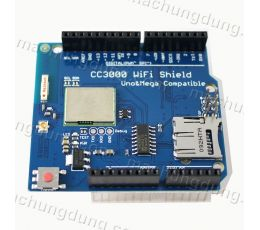 Arduino CC3000 TI WiFi Shield (H17)