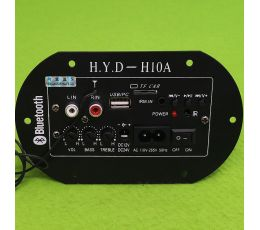 H.Y.D - H10A car Subwoofer amplifier + Bluetooth (H37)