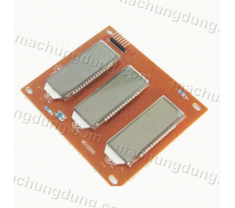 3 x LCD LED 7-Segment 6-Digit (H33)